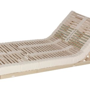 Das Lamellensystem Naturform hat eine hohe Einsinktiefe bis 90 mm. Ausführung: Sitzhochstellung