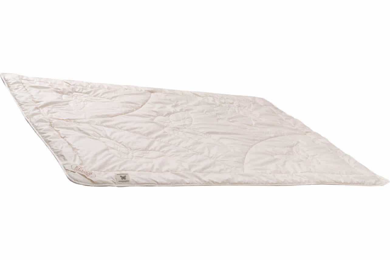 Sommerdecke gefüllt mit Tussah Wildseide. Baumwollbezug.