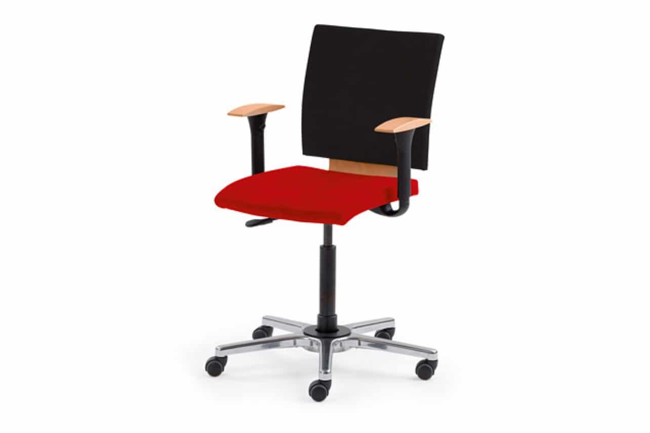 ergonomischer Bürostuhl M36 mit Armlehnen