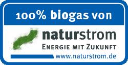 100% Biogas von Naturstrom